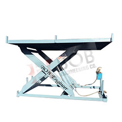 PIT Mounted Hydraulic Scissor Lift Table