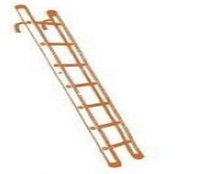 Aluminum Pipe Step Ladder With Hook