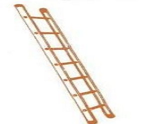 Aluminium Single Ladder with Flat Steps